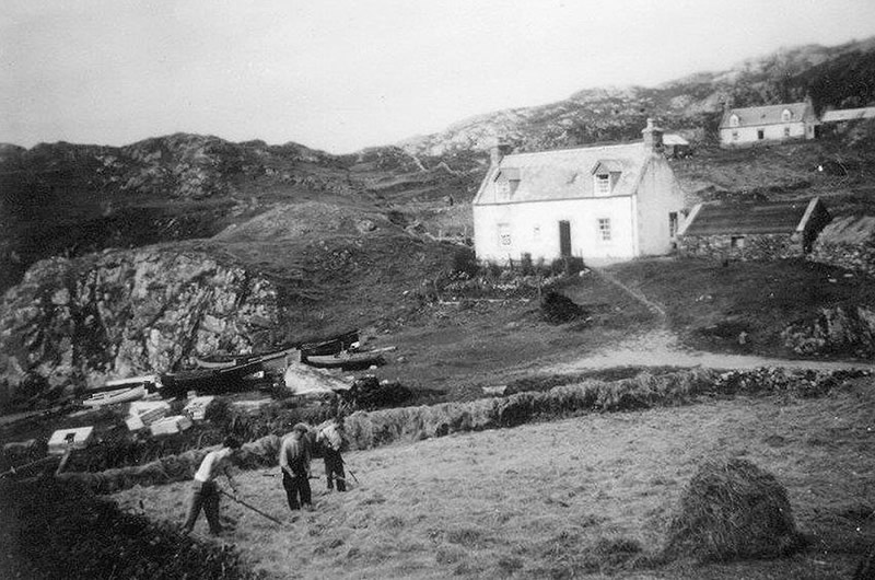 Shorehouse Seafood Restaurant Tarbet Scourie 1940s